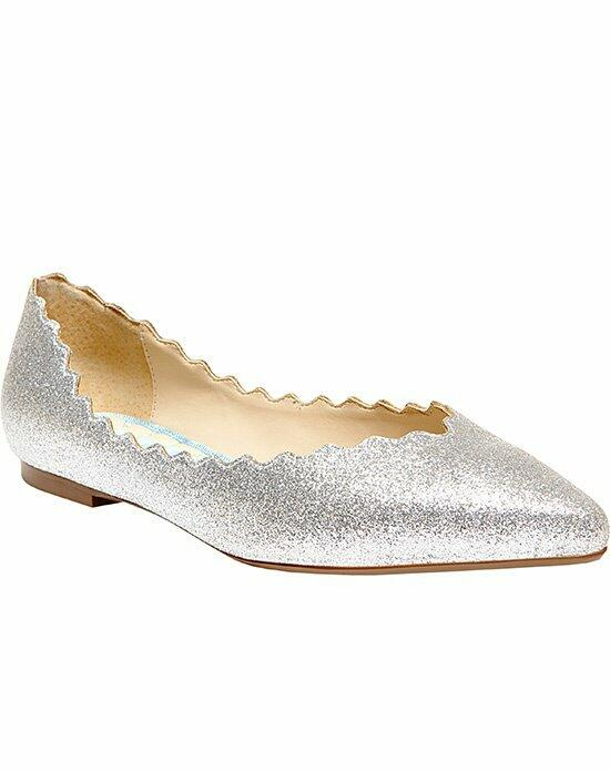 Blue by Betsey Johnson SB-Cake- Silver Wedding Shoes photo