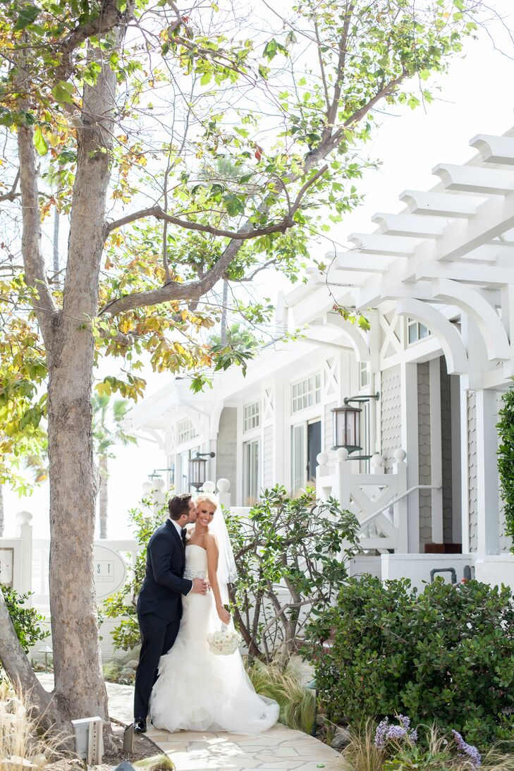 A Clic White Wedding At Shutters On The Beach In Santa Monica California