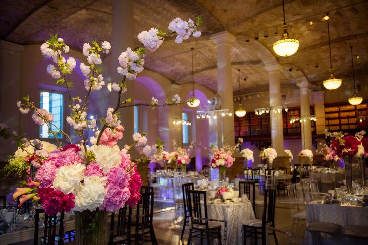 Guastavino Room Boston Public Library Wedding Reception