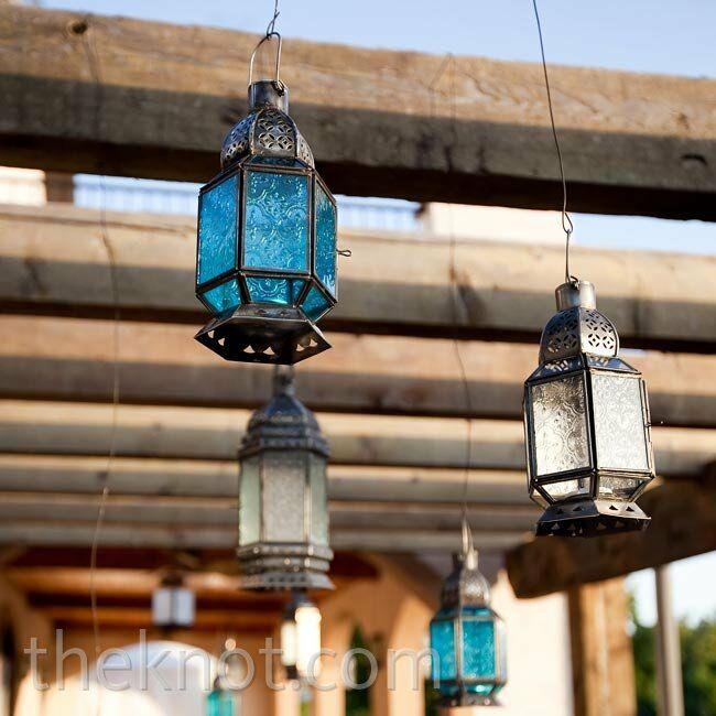 Lantern Cocktail Hour Decor