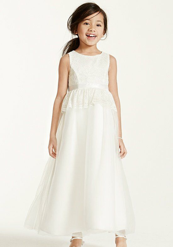 David's Bridal Juniors KP1339 Flower Girl Dress photo