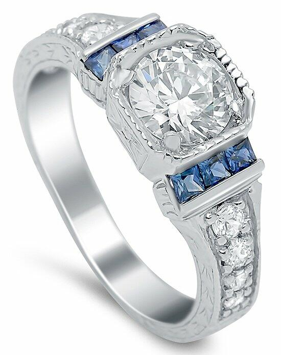 Timeless Designs R596-S Engagement Ring photo