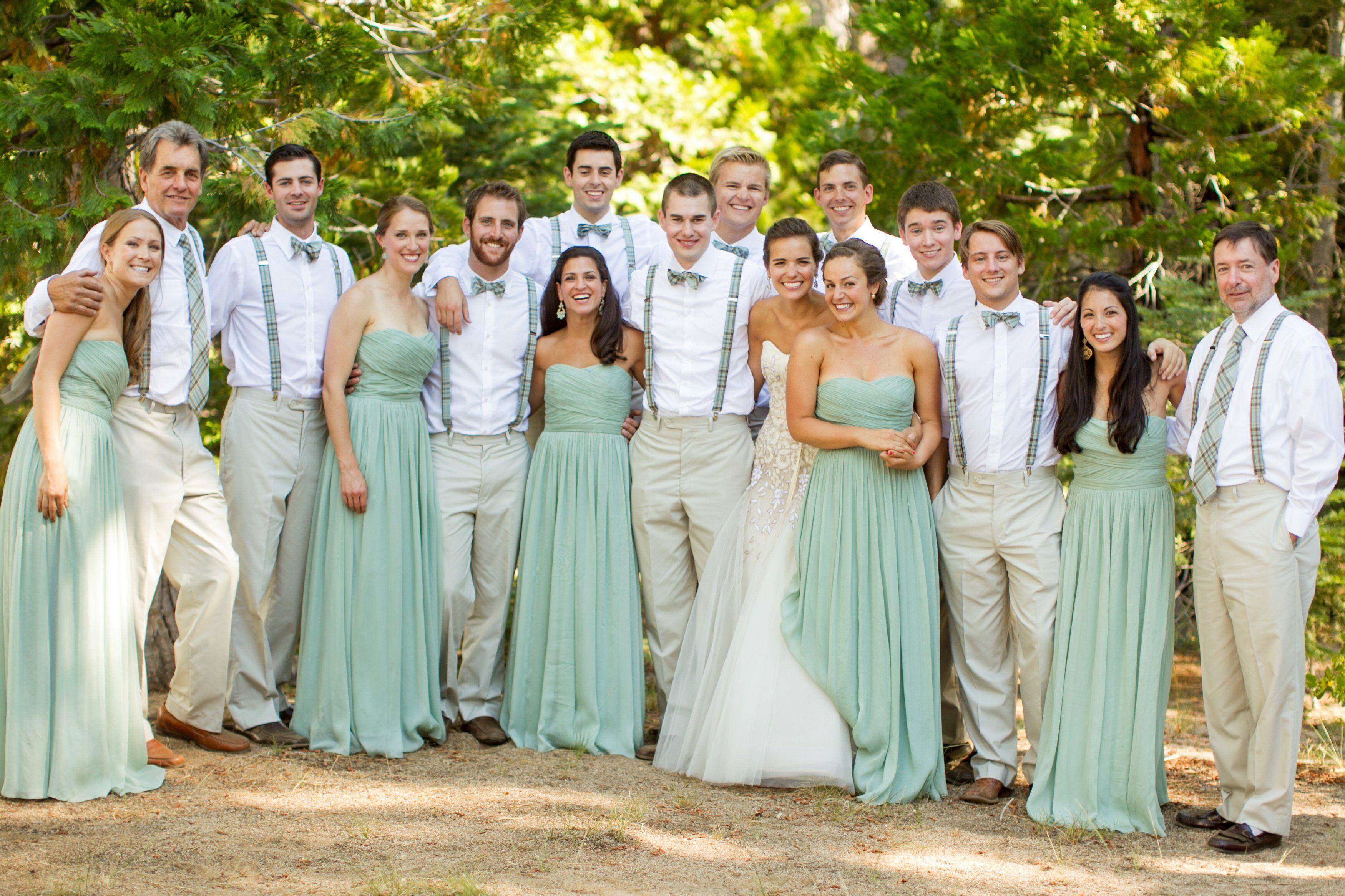 da3e587ded Casual Bridal Party Attire