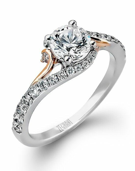 Zeghani ZR874 Engagement Ring photo