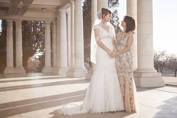 Mother Of The Groom Gift: Champagne Mother Of The Bride Dress