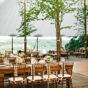 Ermilk Falls Inn Tented Wedding Reception