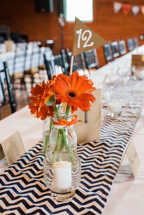 Gerbera daisy wedding decorations accents gerber daisy centerpieces junglespirit Choice Image