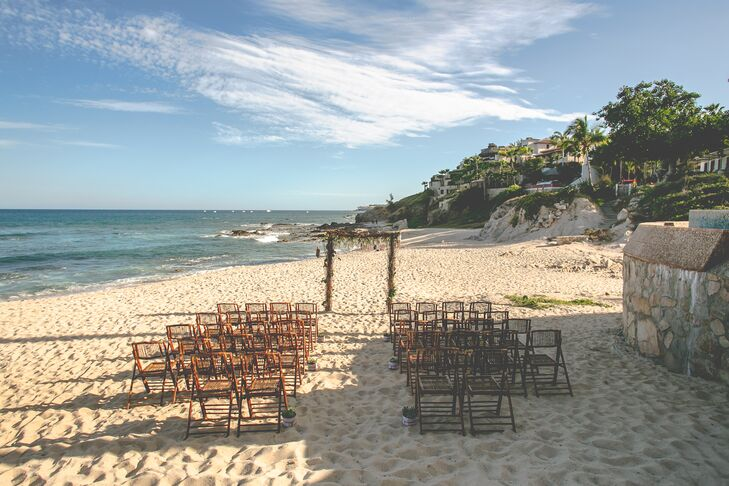 Natural Beach Wedding Ceremony