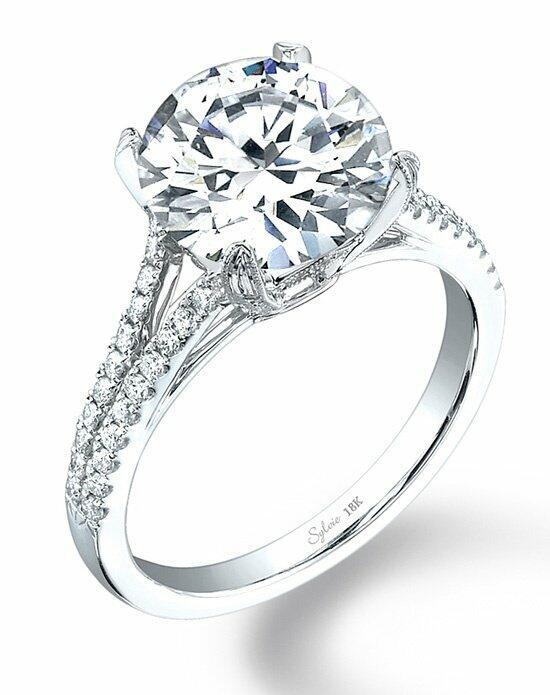 Sylvie Collection SY098 Engagement Ring photo