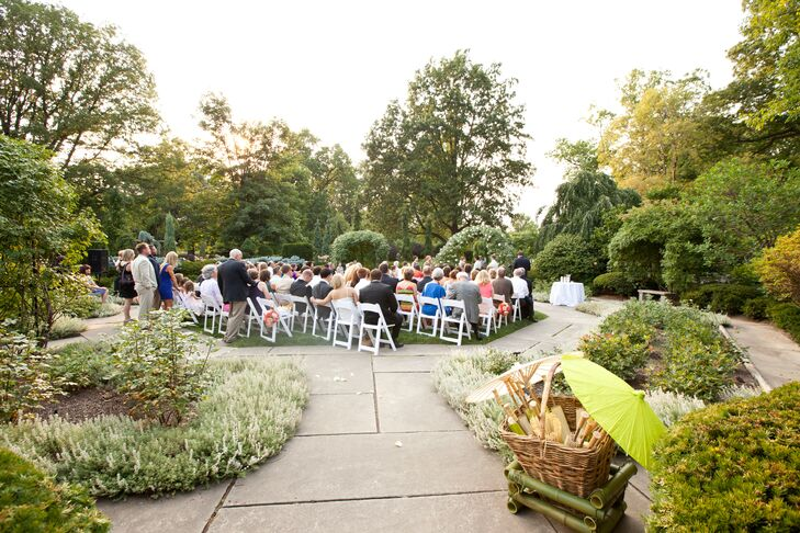 An Elegant Garden Wedding At The Cleveland Botanical Gardens In Cleveland Ohio