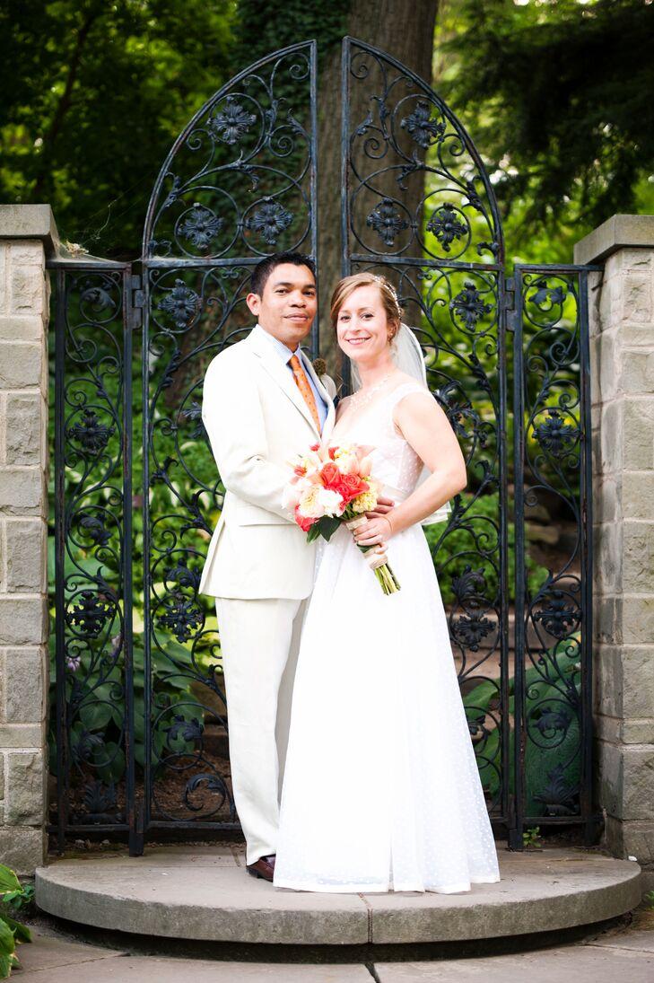 An Elegant Garden Wedding At The Cleveland Botanical Gardens In Ohio