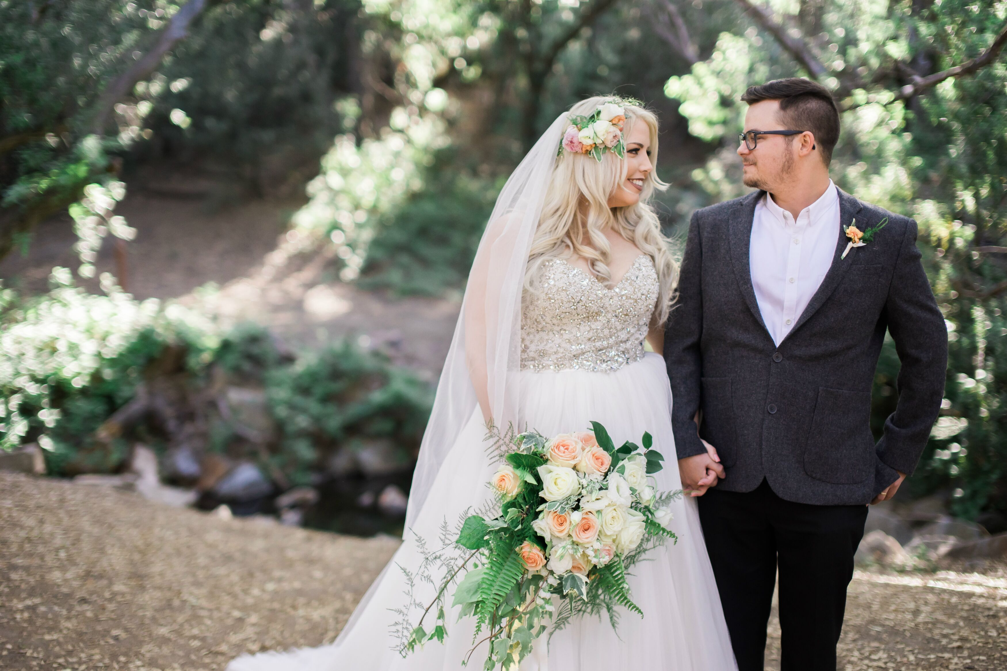 A Whimsical Woodland Wedding At The Torrance Woman S Club In