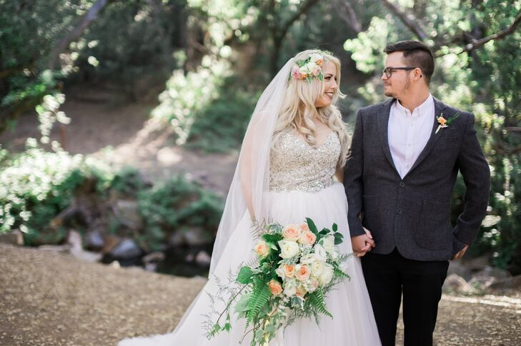 A Whimsical Woodland Wedding At The Torrance Womans Club In California