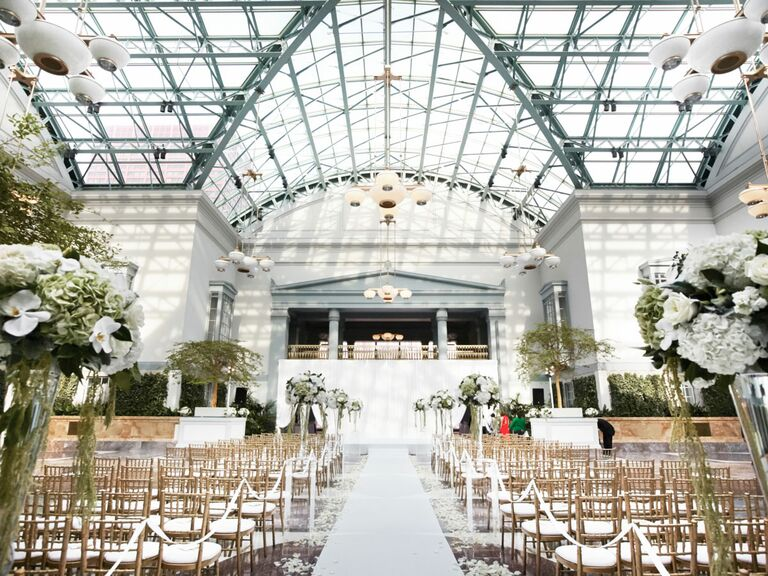 Harold Washington Library Illinois Wedding Venue