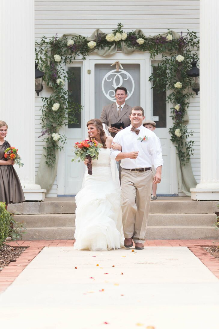 A Rustic Outdoor Wedding in Mooresville AL
