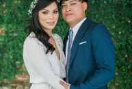 Christine Hang Nguyen (29 and a medical technologist) and Loi Duy Nguyen (34 and a manager at MLJ Liquor) brought their rustic DIY wedding to life wit