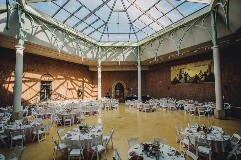 Dayton Museum Of Art Wedding Reception