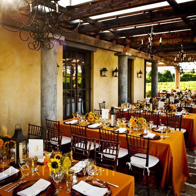 Vineyard Wedding: Wolffer Estate Vineyard Wedding Reception