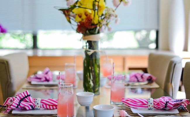 Chic Tabletop Ideas from Amanda Gluck of The Fashionable Hostess