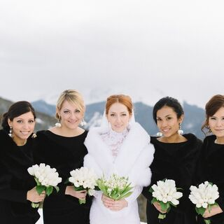 A Winter Glam Wedding in Aspen