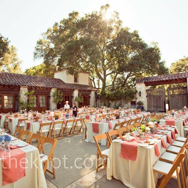 A Casual Outdoor Wedding in Carmel Valley, CA
