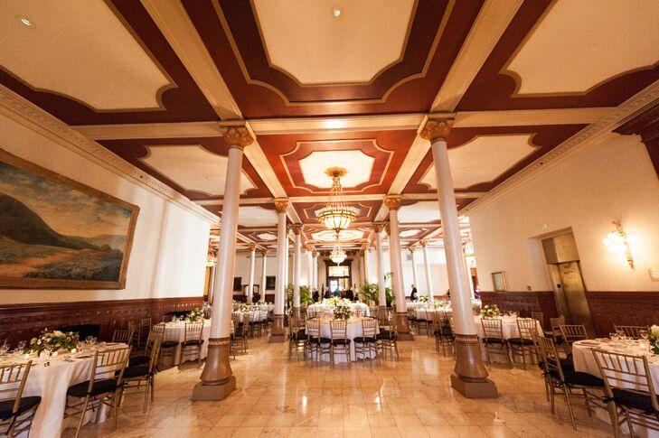 the driskill hotel ballroom reception site