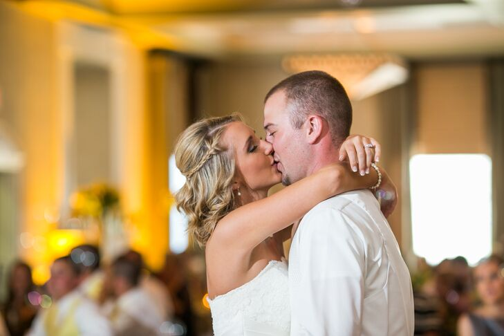 First Dance at Vinton War Memorial Reception