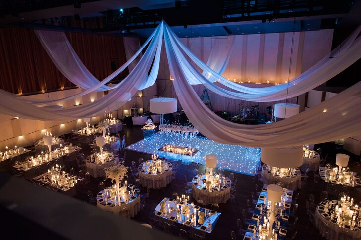 An Elegant Wedding At The Max M Fisher Music Center In