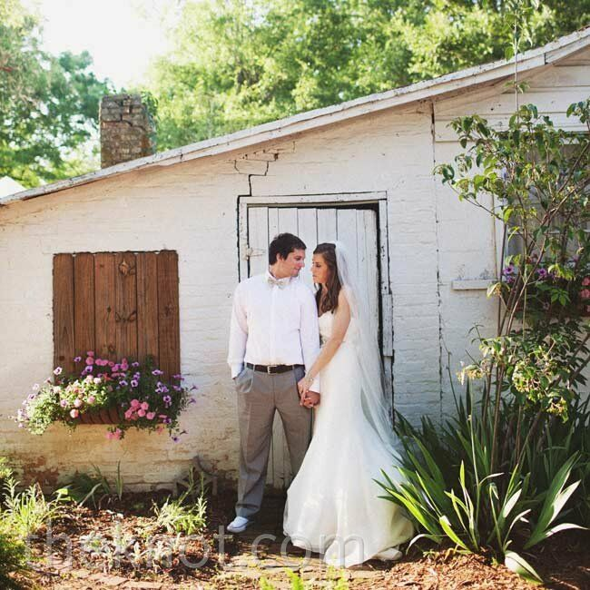 A Tented Wedding In Huntersville, NC