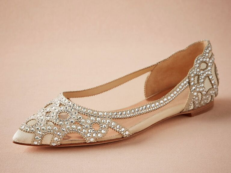 25 Flats You Can Wear on Your Wedding Day