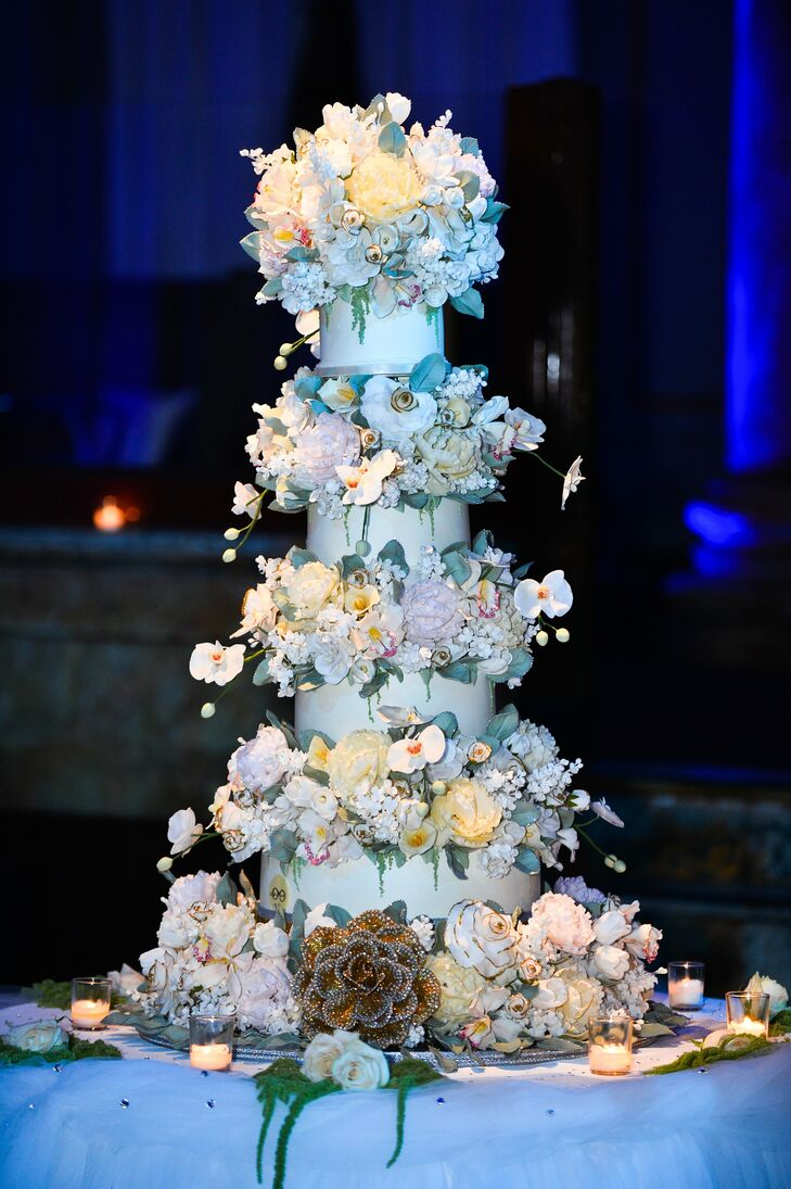 cheesecake for wedding cake stunning floral slyvia weinstock cake 2768