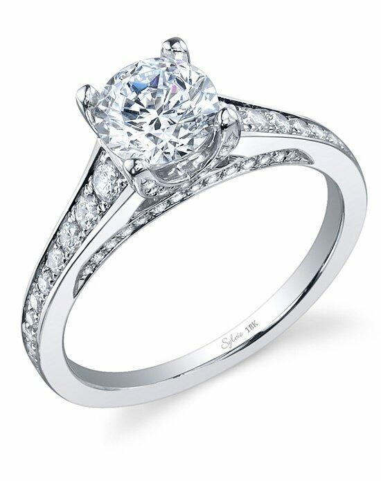 Sylvie Collection SY778 Engagement Ring photo