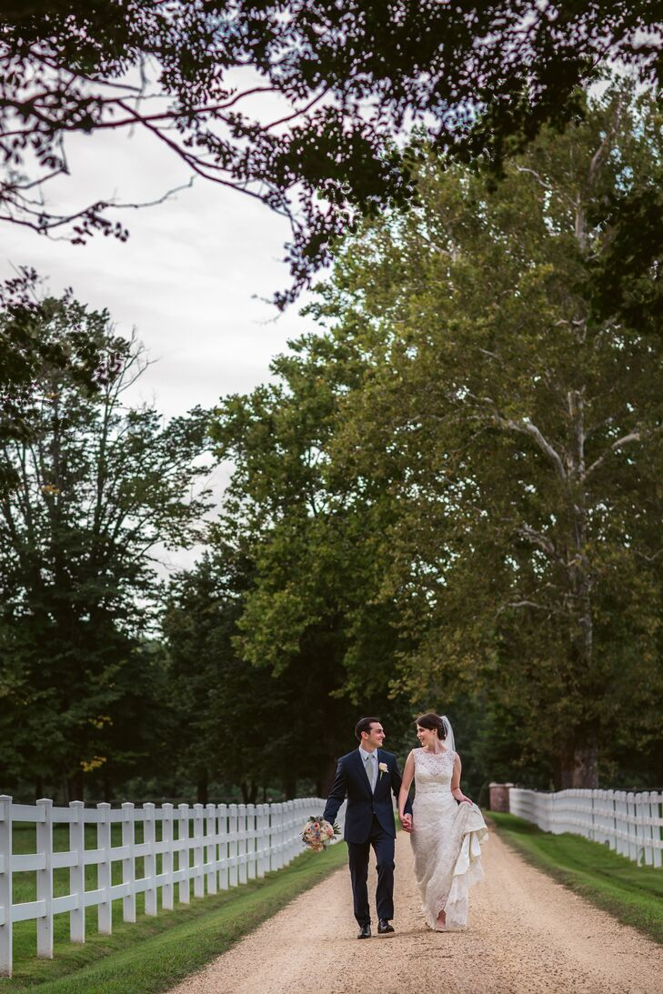 Erika Immel (27 and an accountant) and Jake Gray's (28 and an account manager) wedding was the perfect mix between vintage and classic. Their fresh bl
