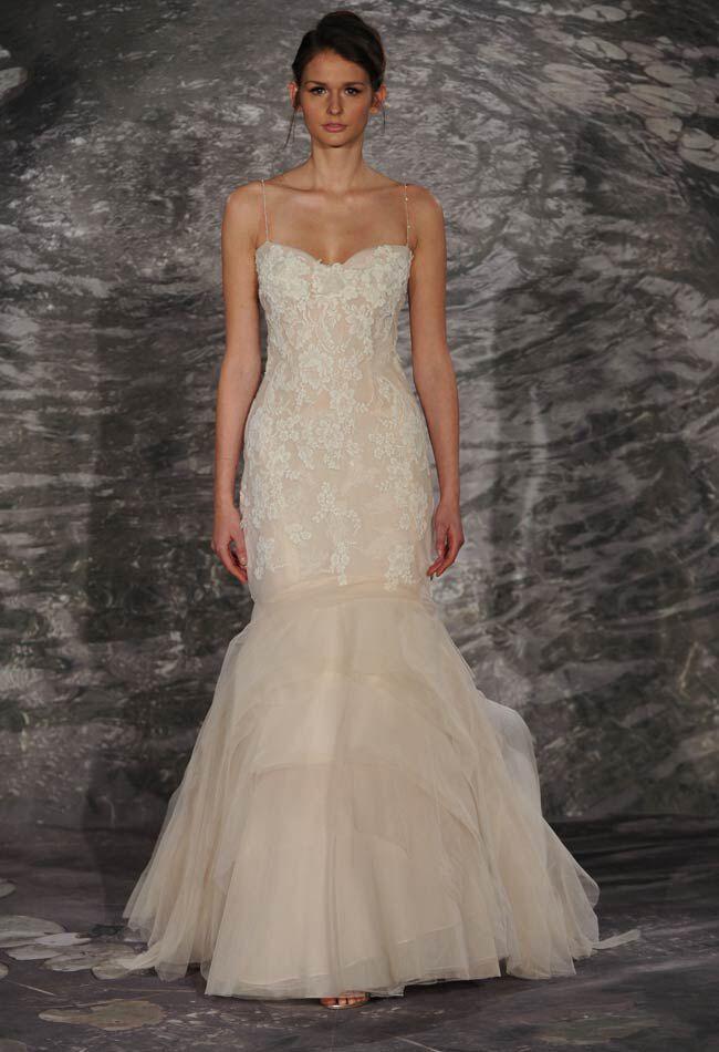 5 gowns inspired by behati prinsloos blush wedding dress wedding dress by jenny lee junglespirit Gallery