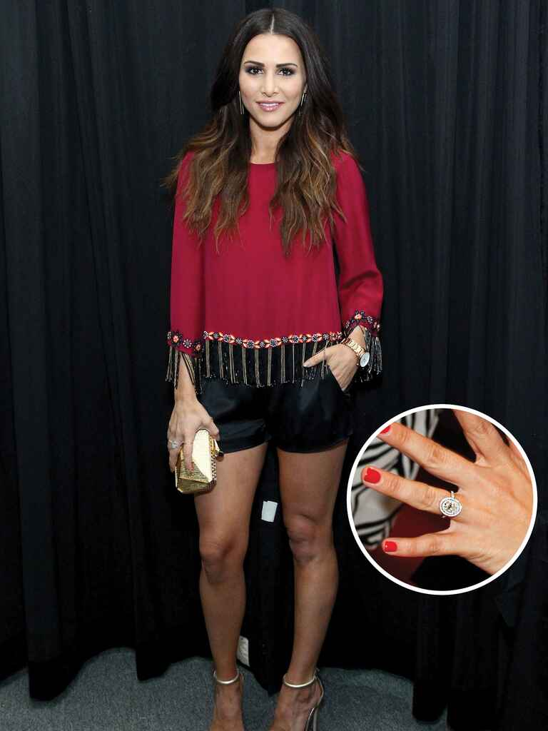 Andi Dorfman's engagement ring