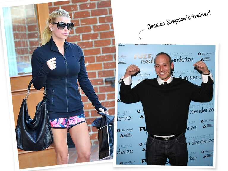 Celebrity Fitness Trainers Exercises And Workouts Weight Loss Glamour