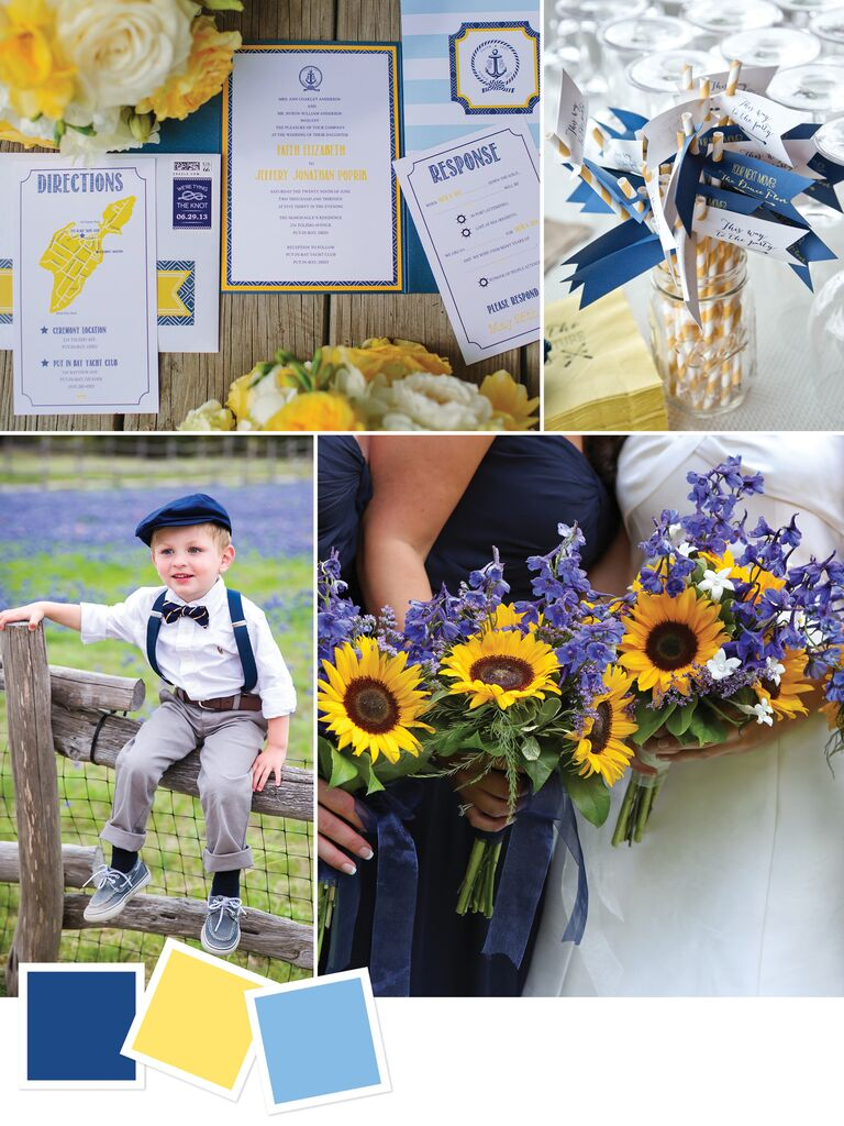 15 wedding color combos youve never seen color combo for a summer country wedding junglespirit Gallery