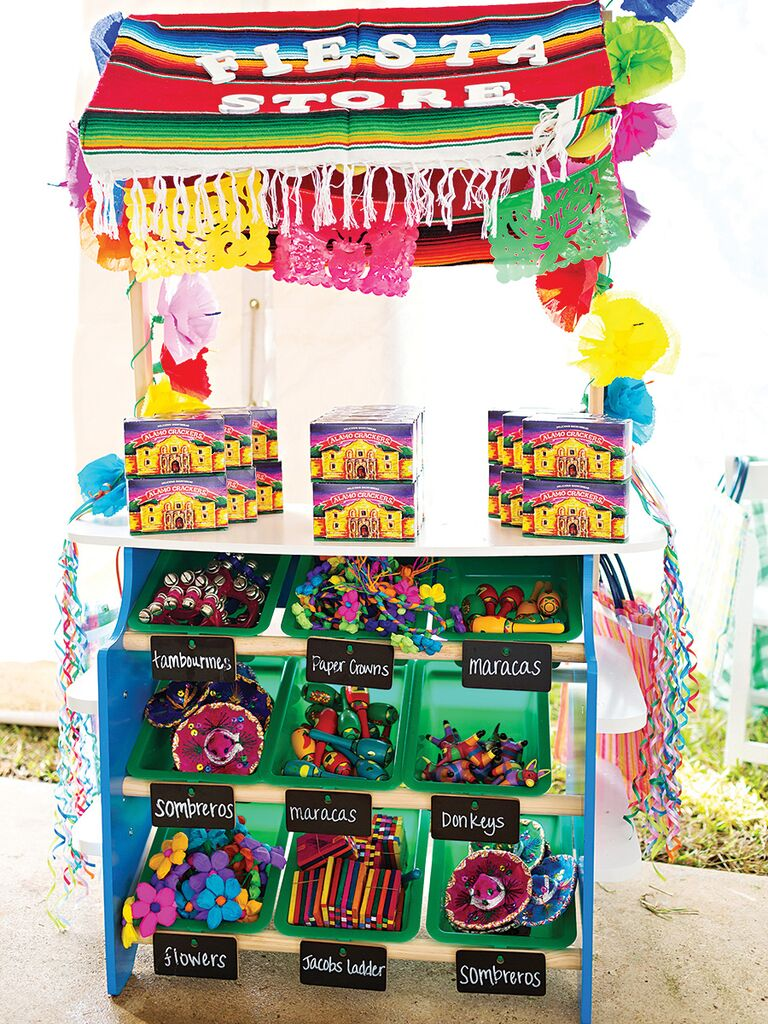 Fiesta Store toy idea for a wedding reception