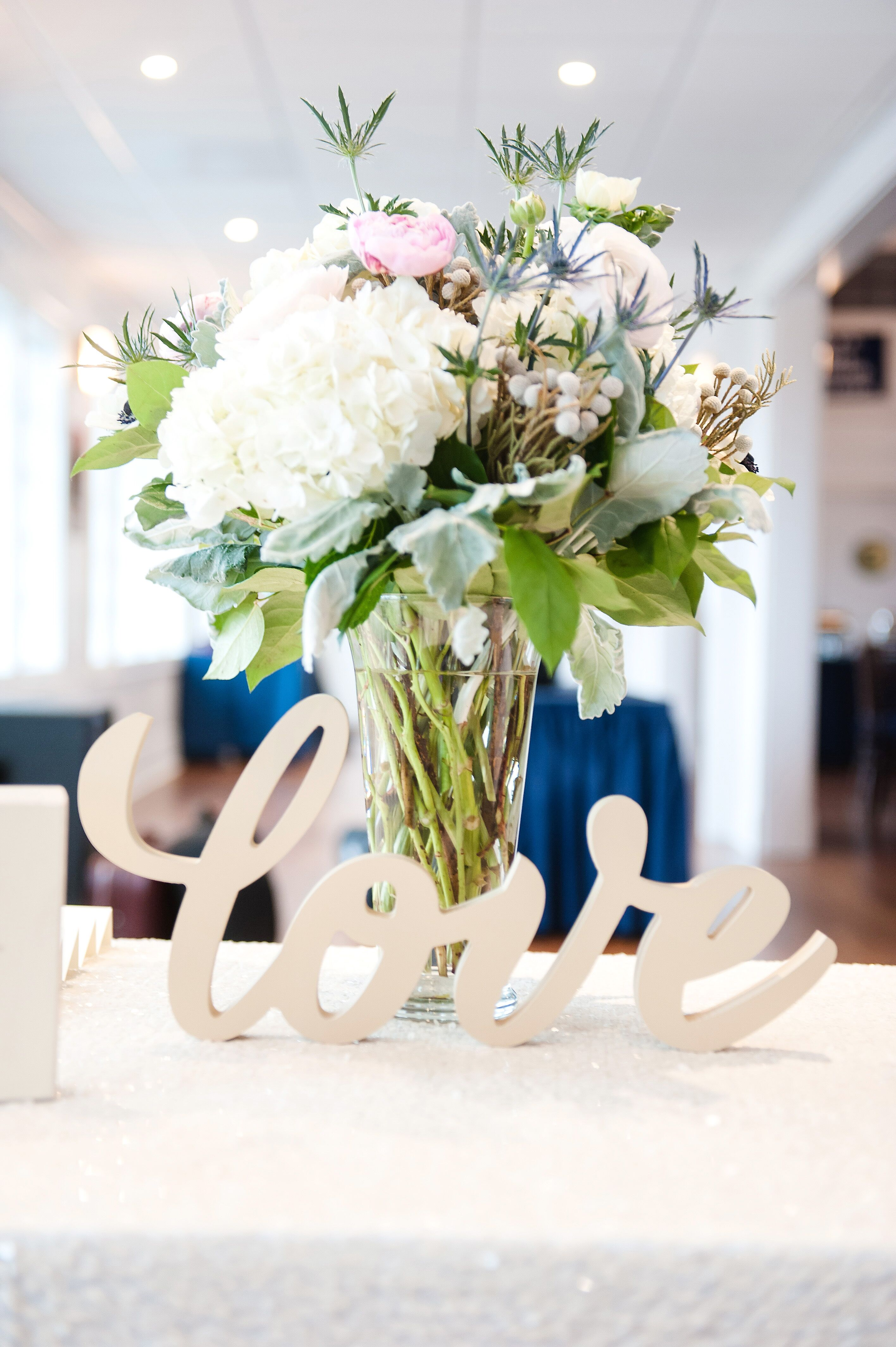 Love Wooden Entrance Table Sign