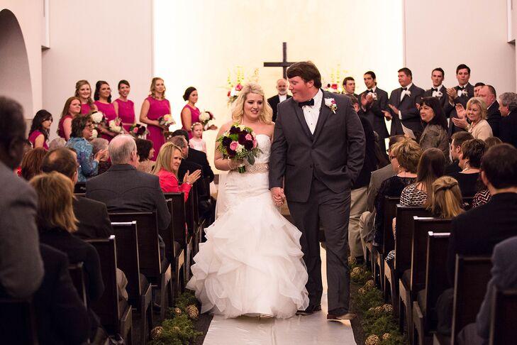 An Elegant Wedding At Kent Hance Chapel In Lubbock Texas