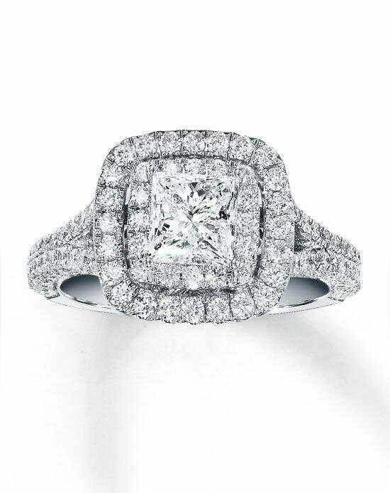 Neil Lane 14kw 2-1/4cttw Princess Cut Bridal Set-940232600 Engagement Ring photo