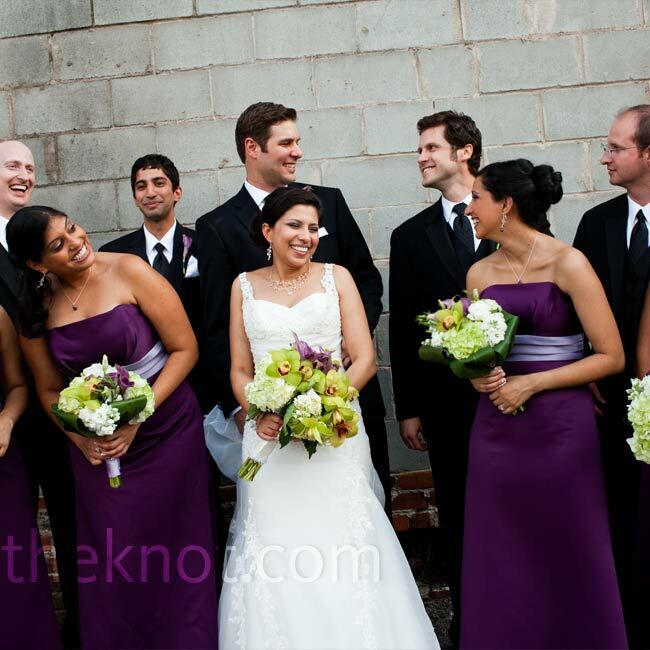 32 Best Compliments Of Purple Images On Pinterest: A Dual Ceremony Wedding In Augusta, GA