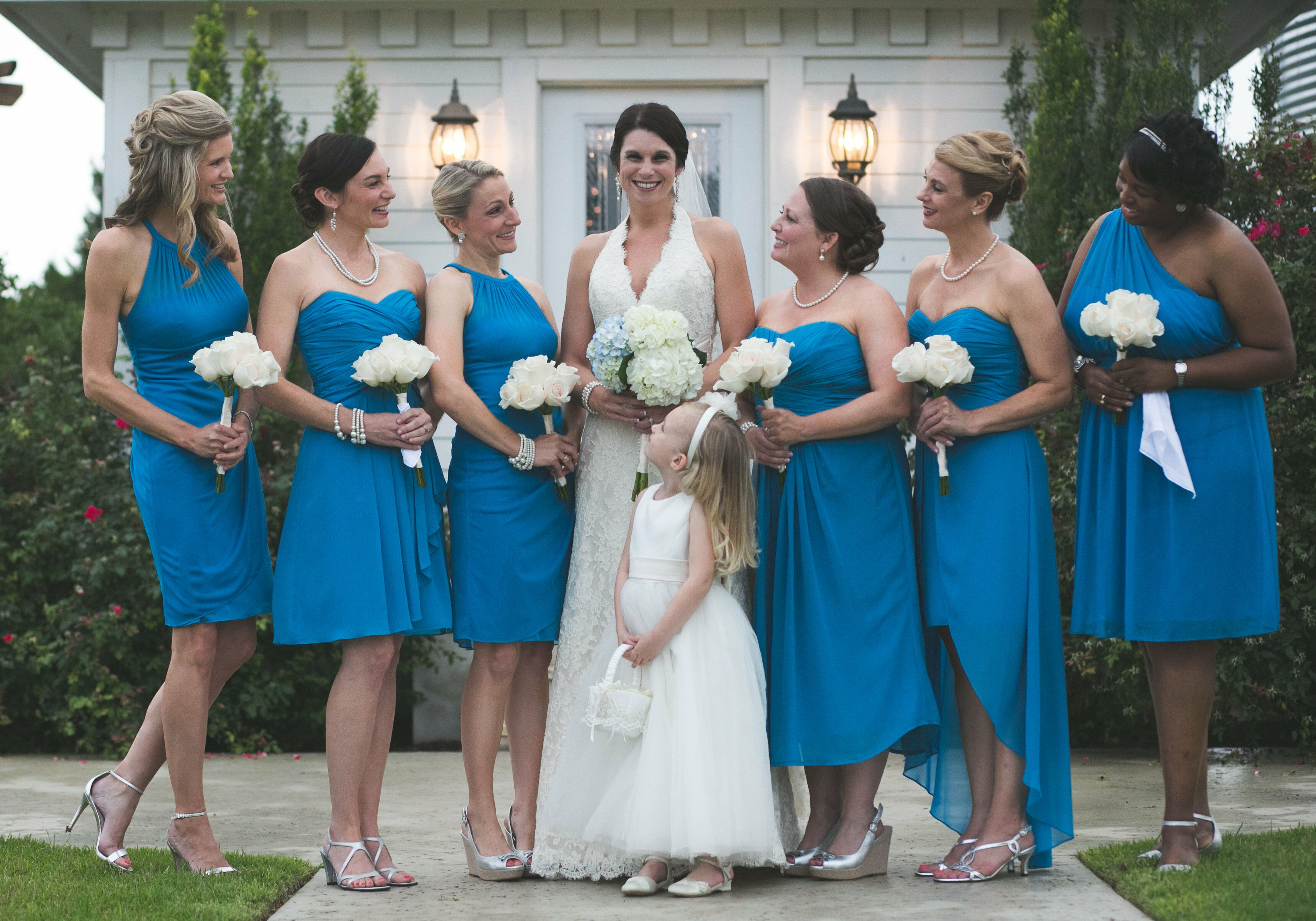 Pacific Blue Bridesmaid Dresses