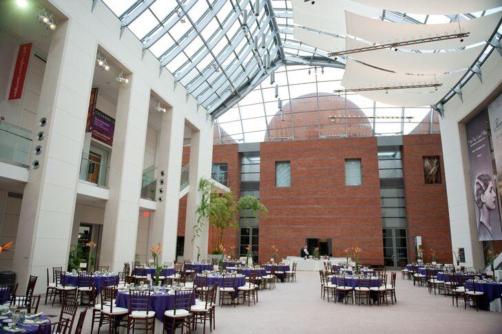 peabody essex museum atrium reception