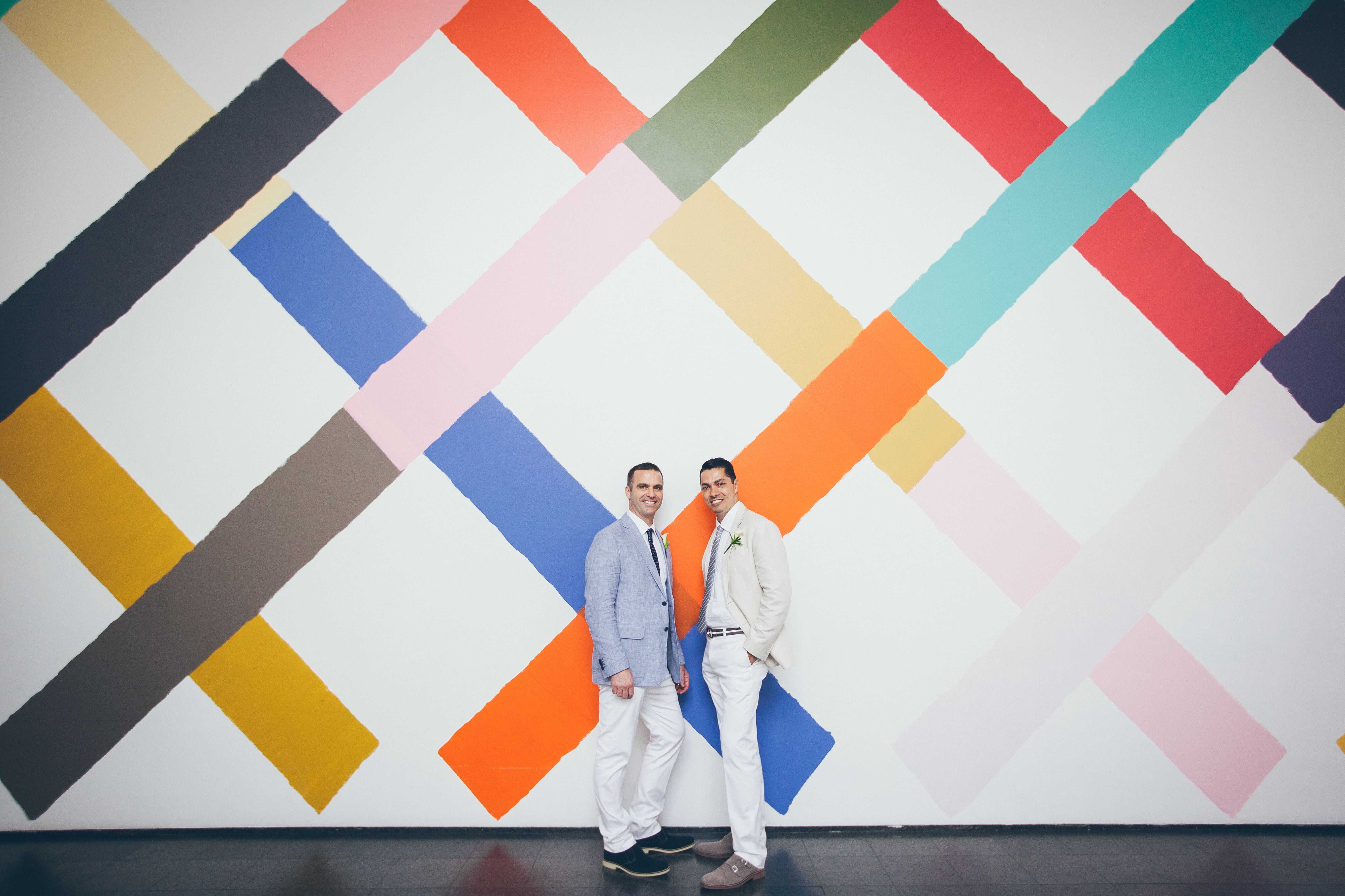 A Modern Artsy Wedding At Museum Of Contemporary Art In