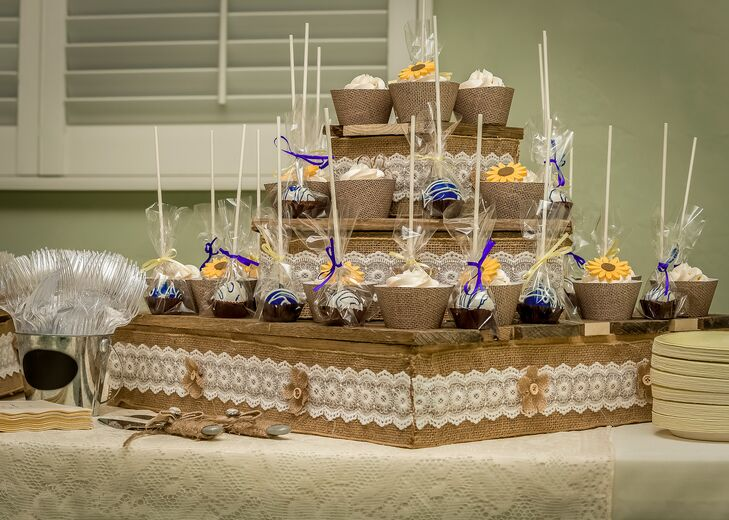 Miranda's Homemade Cupcake Display