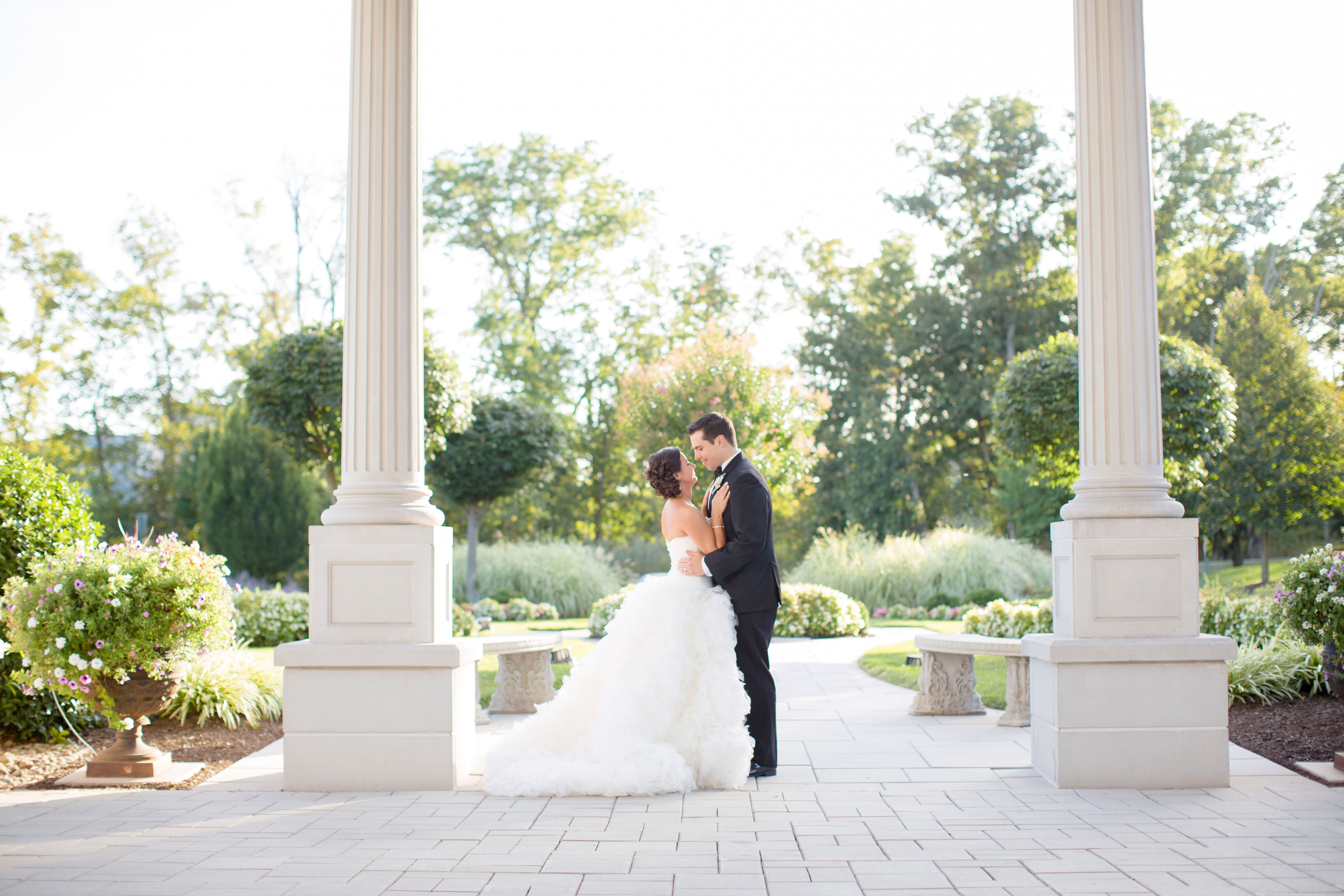 A romantic wedding at the palace at somerset park in for Aaina beauty salon somerset nj
