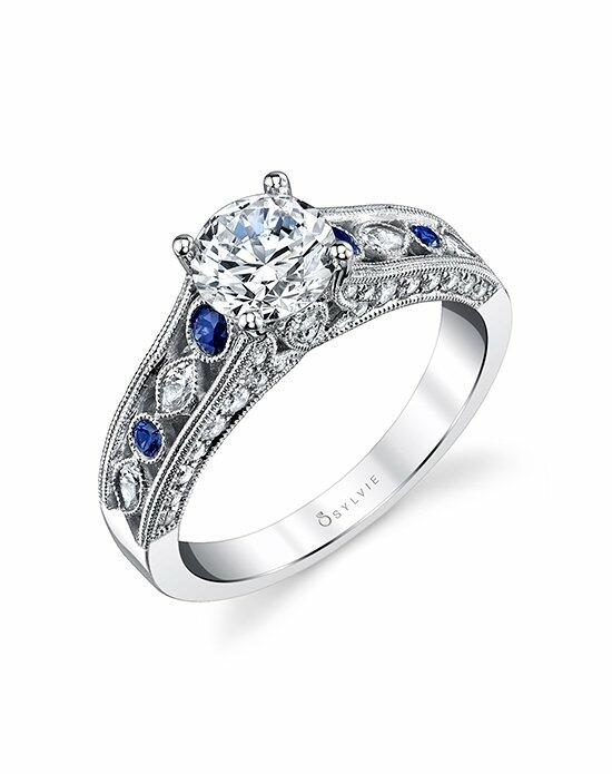 Sylvie Collection S4117 Engagement Ring photo
