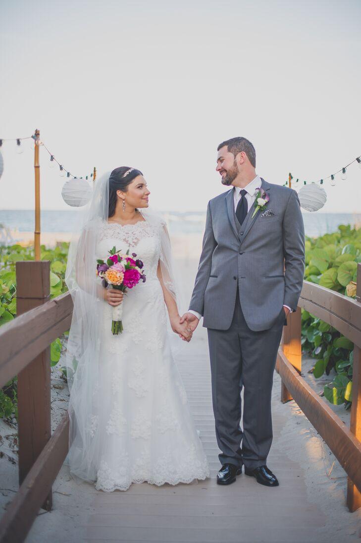 A Rustic, Elegant Beach Wedding at Hilton Singer Island Oceanfront ...