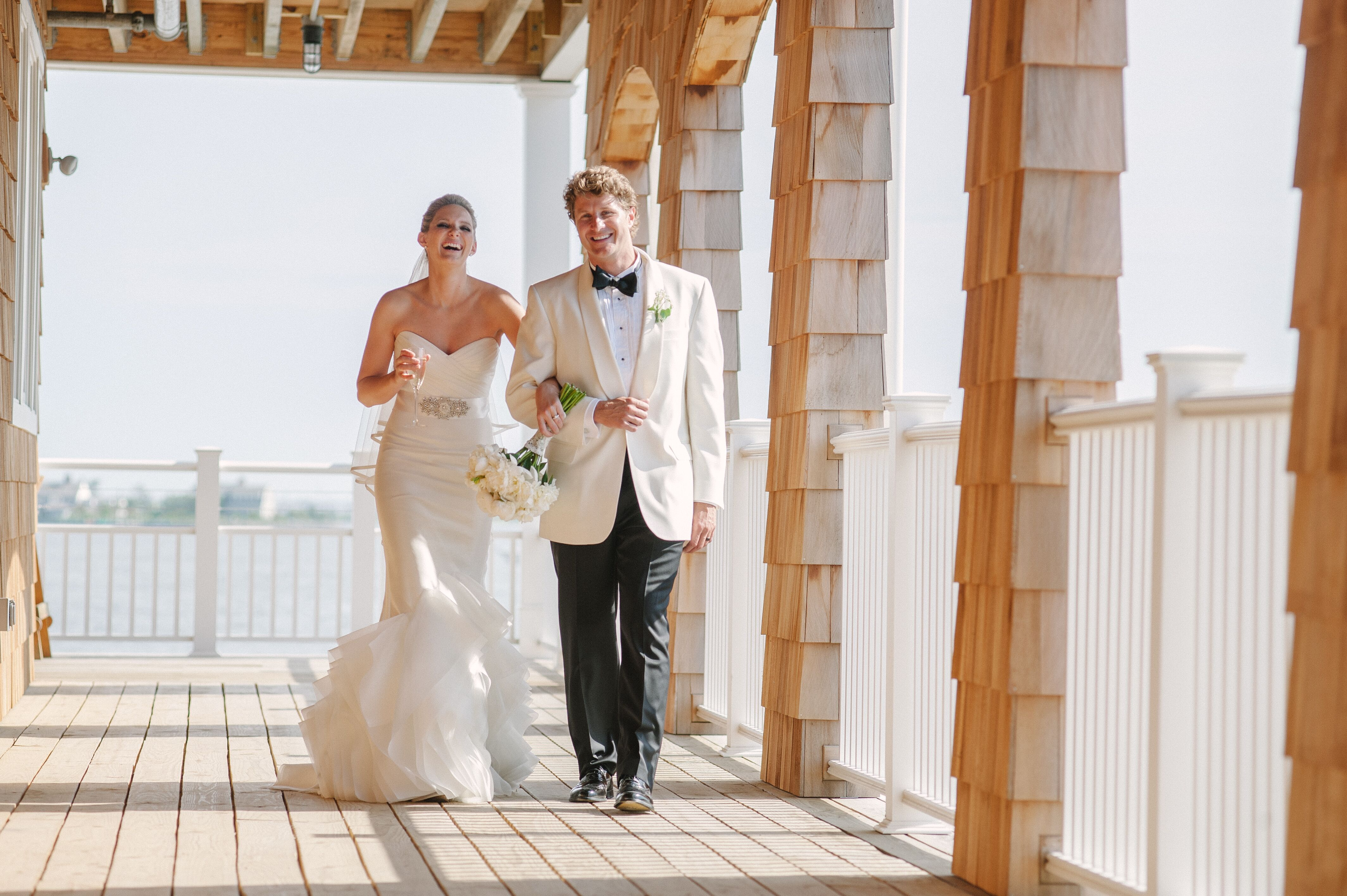 A Rustic Barn Wedding With A Vintage, Nautical Twist At